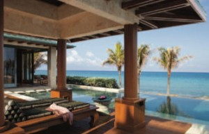 All Nandana's suites and the main villa open onto the infinity pool.